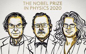 Giải Nobel Vật lý năm 2020 vinh danh 3 nhà khoa học nghiên cứu về hố đen