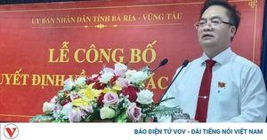 Ông Hoàng Vũ Thảnh được giao quyền Chủ tịch UBND thành phố Vũng Tàu