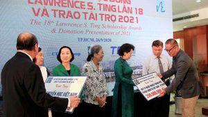 Quỹ Lawrence S. Ting trao học bổng cho sinh viên Việt Nam trị giá hơn 8,5 tỷ đồng