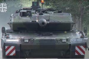 Quân đội Đức thử nghiệm xe tăng Leopard 2A7V nâng cấp