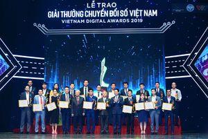 Giải thưởng Chuyển đổi số Việt Nam 2020 sẽ vinh danh 58 doanh nghiệp, cơ quan Nhà nước
