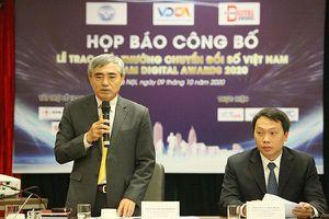 58 doanh nghiệp, cơ quan Nhà nước đạt giải thưởng chuyển đổi số Việt Nam 2020