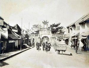 36 phố phường có từ đời vua Lê Hiển Tông?