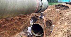 Hà Nội: Ngừng cấp nước sạch sông Đà do sự cố đường ống nước