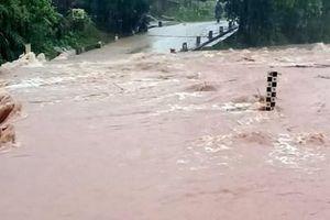 Sẵn sàng lực lượng, phương tiện khắc phục hậu quả mưa lũ trên địa bàn