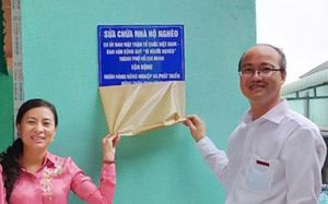 TP.HCM: Bàn giao 4 căn nhà tình thương cho các hộ nghèo, cận nghèo