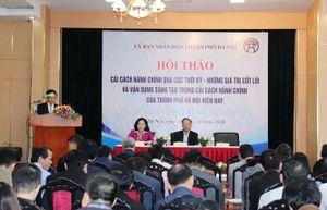 Hà Nội: Cải cách hành chính được tiến hành vững chắc, đột phá, có trọng tâm, trọng điểm