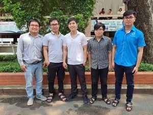 Sinh viên ĐHQG TP. HCM giành giải Nhì IEE REGION 10