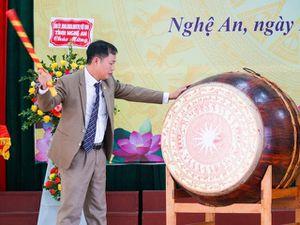 Trường ĐH Sư phạm Kỹ thuật Vinh đón chào hơn 1.800 tân sinh viên