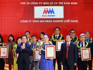 MM Mega Market giữ vị trí thứ 3 trong Top 10 Công ty bán lẻ uy tín 2020