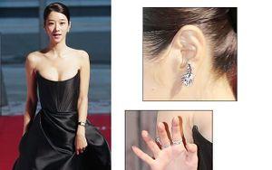 Sang chảnh diện đồ 1 tỷ 3, Seo Ye Ji vẫn 'hớ hênh' lộ ngực trên thảm đỏ
