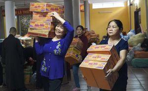 Tuyên Quang: Ban Trị sự Giáo hội Phật giáo tỉnh xuất quân thăm hỏi đồng bào miền Trung bị lũ lụt