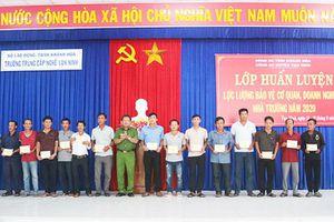 Trường Trung cấp Nghề Vạn Ninh: Làm tốt công tác an ninh, trật tự trường học