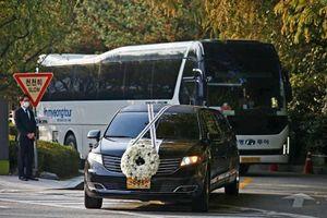 Đoàn xe tiễn đưa cố Chủ tịch tập đoàn Samsung Lee Kun Hee