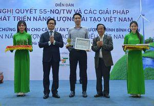 11 dự án năng lượng tái tạo tiêu biểu Việt Nam được bình chọn năm 2020