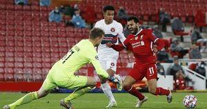 Man City thắng áp đảo, Liverpool chật vật hạ 'tí hon' Midtiylland
