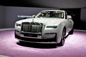 Rolls-Royce Ghost 2021 chào bán từ 17 tỷ đồng tại Hồng Kông