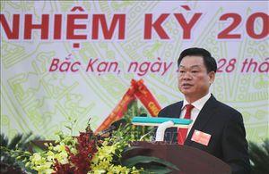 Đồng chí Hoàng Duy Chinh được bầu giữ chức Bí thư Tỉnh ủy Bắc Kạn khóa XII
