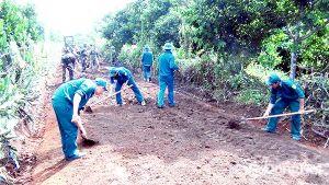 Lực lượng vũ trang TP.Long Khánh: Chung sức xây dựng nông thôn mới nâng cao