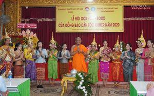 TP.HCM : Giao lưu văn hóa lễ hội Ok-om-bok tại chùa Candaransi