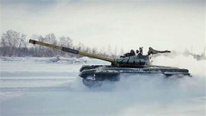 Báo Nhật nói gì khi xe tăng T-72B3 xuất hiện ở Kuril?