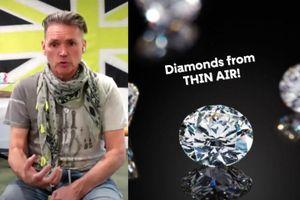 Kim cương chế tạo từ không khí có đủ sức soán ngôi kim cương thật?