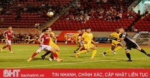 Hồng Lĩnh Hà Tĩnh thất thủ trên sân vận động Thống Nhất