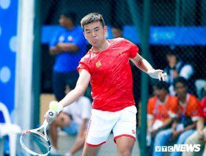 Giải quần vợt VĐQG 2020: Lý Hoàng Nam thắng dễ ở tứ kết