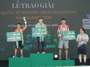 Khoảng 7.200 vận động viên tham gia giải quốc tế Mekong Delta Marathon Hậu Giang năm 2020