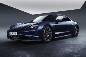 Porsche Taycan có gói nâng cấp ngoại thất làm từ sợi carbon