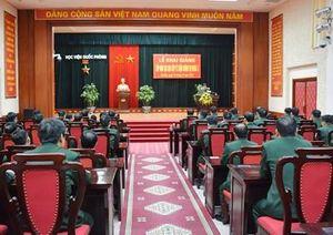 Học viện Quốc phòng khai giảng đào tạo cao cấp lý luận chính trị khóa 3