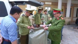 Lạng Sơn: Tạm giữ gần 2,5 tạ nguyên liệu thuốc Bắc