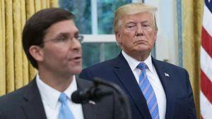 Vì sao ông Trump bất ngờ sa thải Bộ trưởng Quốc phòng Mark Esper?