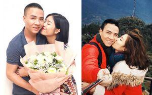 Mừng sinh nhật ông xã, MC Hoàng Linh 'chơi lớn' tung loạt ảnh 'khóa môi' bạn đời