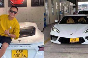 Corvette C8 hơn 8 tỷ tại Việt Nam kinh doanh dịch vụ vận tải