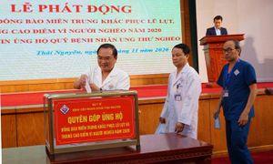 Trên 262 triệu đồng hỗ trợ đồng bào miền Trung