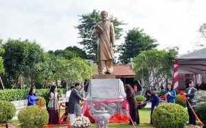 Nghệ An tưởng niệm 80 năm ngày mất và khánh thành tượng đài nhà chí sĩ yêu nước Phan Bội Châu