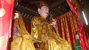 Vị Thành hoàng chỉ dựng tượng cũng làm quân Hung Nô khiếp vía