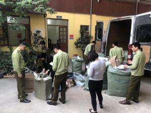 Thu giữ gần 1.000 sản phẩm hàng hóa nhập lậu
