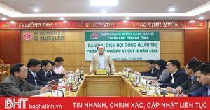 Quản lý tốt nguồn tín dụng, hỗ trợ kịp thời đối tượng chính sách ở Hà Tĩnh