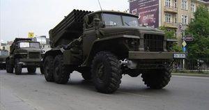 Ukraine trang bị đạn nhiệt áp cho pháo phản lực phóng loạt