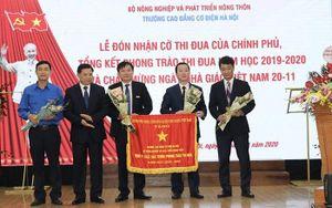 Trường Cao đẳng Cơ điện Hà Nội đón nhận Cờ thi đua của Chính phủ