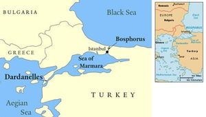 Eo biển Bosphorus: Vũ khí độc Thổ Nhĩ Kỳ đánh Hy Lạp?