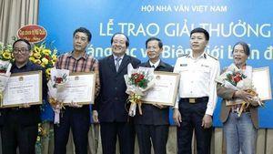 Hội Nhà văn Việt Nam trao Giải thưởng Sáng tác về biên giới, biển đảo