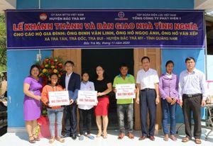 EVNGENCO1 trao nhà tình nghĩa, hỗ trợ người dân Quảng Nam