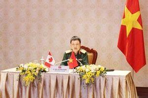 Tham vấn quốc phòng song phương Việt Nam-Canada năm 2020