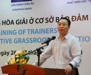 Bộ Tư pháp: Tập huấn kỹ năng hòa giải bảo đảm bình đẳng giới