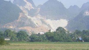 Tai nạn lao động tại mỏ đá, một công nhân tử vong