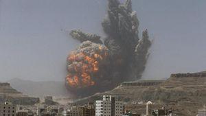 Saudi Arabia dội bom ác liệt các mục tiêu của Houthi ở Yemen