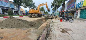 TP Bà Rịa: Dân khổ vì cống thoát nước thi công chậm